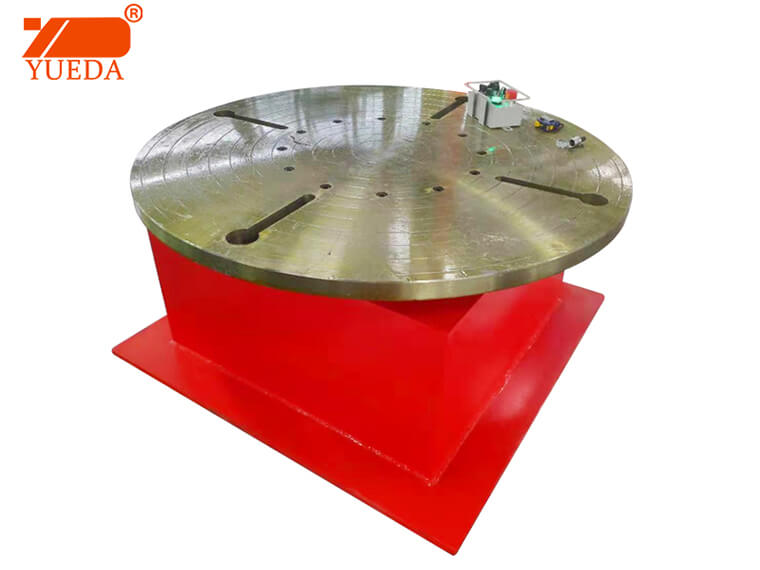 Yueda brand Welding Horizontal Turntable