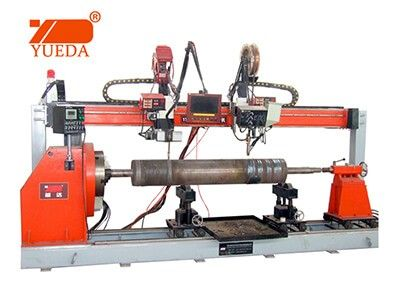 PLC control Lathe type automatic girth welder