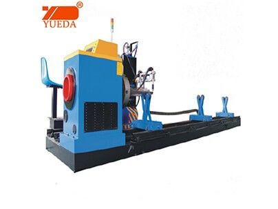 CNC control round pipe intersecting-line cutting machine