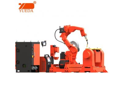 Yueda 6 axis industrial welding robot station